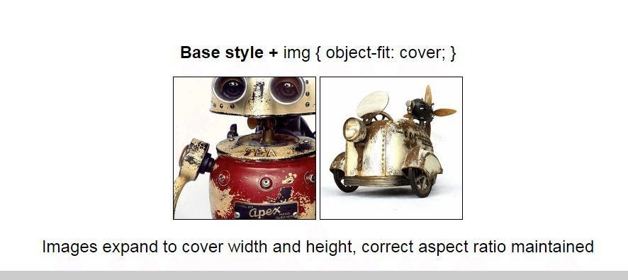 CSS object fit